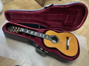 入手困難 激レア 美品 レキントギター「鶴岡雅義モデル」黒澤澄雄作 ケース付属