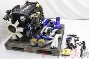 4975301 RB26DETT エンジンAssy HKS GT-SS 金プロ セット スカイライン GT-R BNR32 中期 トラスト企画 送料無料