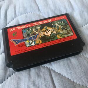 任天堂:ドラゴンクエストIII ファミコンソフト