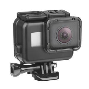 GoProヒーロー7 6 5の45m水中防水ケース Go Pro 7 6 5アクセサリー用ブラックダイビング保護カバーハウジングマウント【XTGP377A】(N1686)