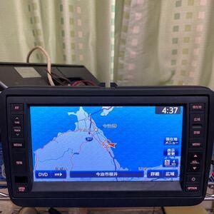 ◎VW純正ワイド Clarion SDナビゲーションJ1KDC2A18 フルセグ Bluetooth 動作確認済み