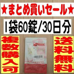 (お得)(匿名配送)(送料無料)ダイエット サプリ 楽スリム サプリメント ダイエットサプリ 60粒30日分