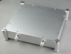 総アルミ製角丸シャーシケース367RA 真空管アンプ パワーアンプ デジタルアンプ ヘッドホンアンプ D/Aコンバーター USB DAC 自作DIYに