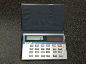 ■即決送料込み■シャープ ポケット電卓ELSI MATE「EL-859」ソーラー、8桁■