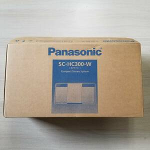 ◯即決 美品! パナソニック ミニコンポ SC-HC300-W ◯