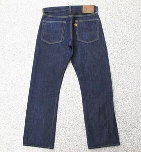 濃紺 良品 シュガーケーン 724 スタージーンズ W75cm USA製 W31表記 SUGAR CANE 星 刺繍