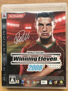 PS3【ウイニングイレブン2008】プレイステーション3 ゲームソフト