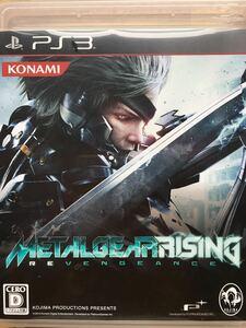 PS3【メタルギア ライジング】プレイステーション3 ゲームソフト
