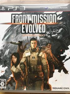 PS3【フロントミッション エボルヴ】プレイステーション3 ゲームソフト