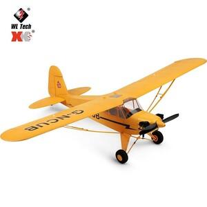 送料無料! Rctown wltoys G-NCUB RCセスナ飛行機 3 7.4v高性能 ブラシレスモーター飛行機