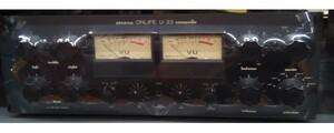 *((3 months guarantee ))* ONLIFE on life li search U-22 vacuum tube pre-amplifier black sound. is good excellent article! name machine! attraction. telefunken!( crane )