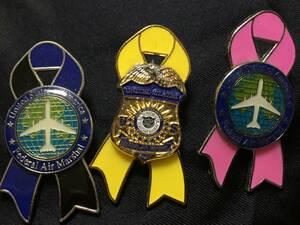 ★ ★ Командующий воздушной безопасностью США Fams Air Marshall против террористического следователя Знак ★ ★ FBI