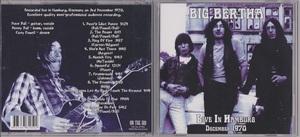 Big Bertha (Pre-Bedlam=Cozy Powell) - Live In Hamburg December 1970 CD