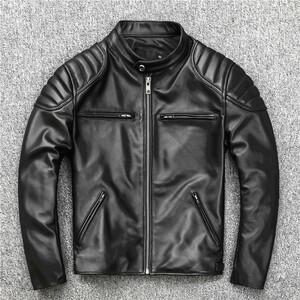 熱売り仕様メンズ 羊革 ジャケット ライダース 登山、バイク ジャケット 羊革 お洒落 ジャケット 新品S-4XLサイズ 選択 PYB92