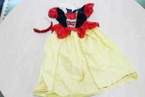 【子供ドレス】ハロウィーン 仮装に 白雪姫 ディズニー プリンセス ドレス 女の子 コスプレ キッズ こども 発表会 ハロウィン コスチューム