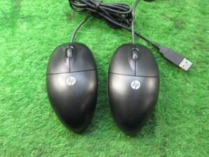 hp☆USB光学式マウス MOFXUO 2個セット 中古
