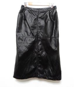 Eddie Bauer エディーバウアー レザースカート P6 豚革