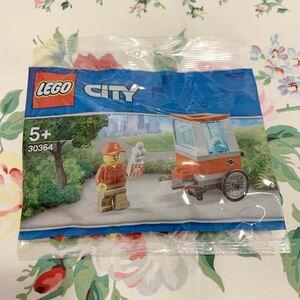 即決 新品未開封 レゴ LEGO 30364 ポップコーンカート ミニフィグ入り レゴシティ ポリパック ミニセット