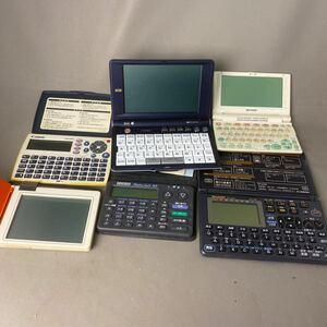 K447 электронный блокнот электронный словарь словарь sharp Sekisui Canon и т.п. совместно комплект 6 шт утиль различный