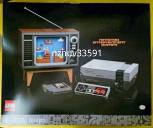 流通限定品レゴ71374 Nintendo Entertainment SystemスーパーマリオNES海外ファミコン別売71360LEGOマリオ スターターセット対応