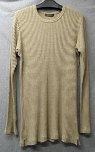 ワイズ フォーメン ヨウジヤマモト* シルク ロング ニット ( カットソー ロンT Yohji Yamamoto Y's for Men Silk Long Knit Tee