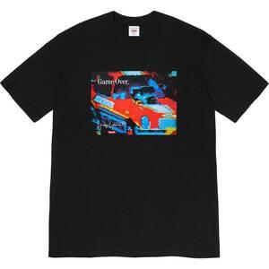 【新品未使用】20AW 21 新作 新品 Supreme × ヨウジヤマモト シュプリーム YOHJI YAMAMOTO GAME OVER TEE Tシャツ カットソー 半袖 黒