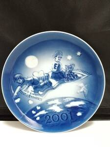 未使用◇自宅保管 ロイヤルコペンハーゲン ミレニアムプレート 2001 フレデリックとエマ 18CM プレート 洋食器 お皿 複数あり