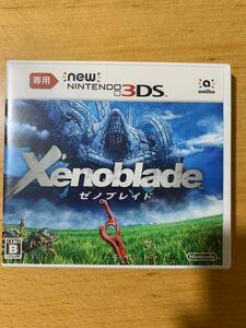 New3DS 専用 Xenoblade Newニンテンドー3DS ゼノブレイド