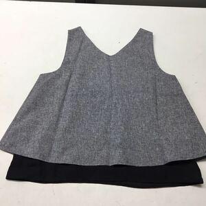 送料無料★NICE CLAUP ナイスクラップ★ノースリーブシャツ トップス★フリーサイズ#20922sj52