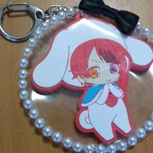 Sanrio ×.... Raver key holder Cinnamoroll ×. dog