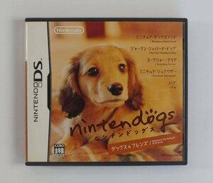 ニンテンドーDS ゲーム ニンテンドッグス ダックス&フレンズ DS ソフト NTR-ADGJ-JPN