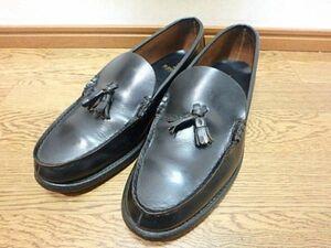 s001kt☆REGAL リーガル 2253 タッセルローファー 27 1/2EE 27.5cm 黒 ブラック 靴 メンズ 男性用 革靴