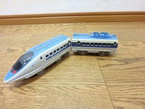 s006y ジャンク プラレール JR西日本 500系 新幹線 車両 電車 2両のみ  動力車なし