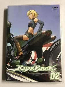 【DVD】RIDEBACK / 02【レンタル落ち】@WA-11