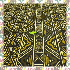 【SALE】アフリカンプリント生地 布 180cmx110cm(2ヤード) アフリカ布 アフリカ生地 アフリカ バティック ハンドメイド素材 barg-a104