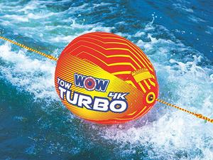 【即納】Wow ブースターボール トーイングチューブ バナナボート 水上バイク ジェットスキー 4K ロープ Tow Turbo 管理番号[UH0155]