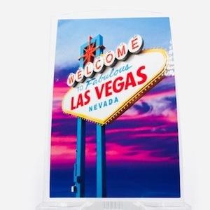 ラスベガス ステッカー シール 工具箱 小物 USA 北米 サーフィン ロカビリー ネオン 看板 映画 洋画 シボレー アメリカン 雑貨 JSC88