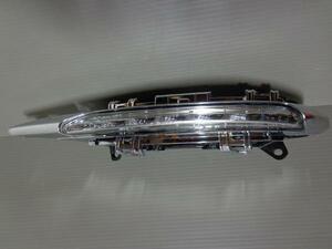 ◆ ベンツ CLS W218 C218 CLS350 CLS550 2011~2014 左 フォグ ランプ LED デイ ライト クローム メッキ カバー A 2218201756 A 2218200956