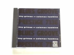 輸入盤 CD【OJCCD8172】タイニー・グライムス Tiny Grimes With Coleman Hawkins / Blues Groove / 送料310円~