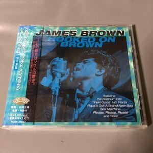 ジェームス・ブラウン JBザ・グレイテスト~フックト・オン・ブラウン 国内盤帯付きCD