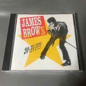 ジェームス・ブラウン 20 all-time greatest hits USA盤CD