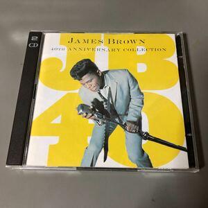 ジェームス・ブラウン グレイテスト・ヒッツ 40th ANNIVERSARY COLLECTION 国内盤2枚組CD
