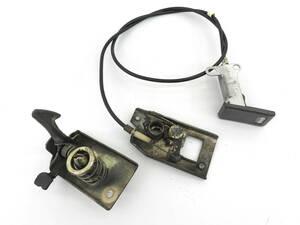 _b37185 ホンダ バモス ターボ LA-HM1 ボンネット キャッチ オープナー レバー ワイヤー ロック L S HM2 HM3 HM4 アクティ HH5 HH6