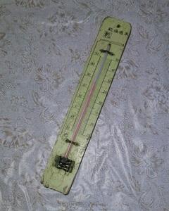 古い 温度計 壁掛け 乾燥機用 木製 古道具 インテリア ディスプレイ ブロカント レトロ 雑貨 当時物 pz1
