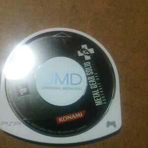 メタルギアソリッド ポータブル OPS PLUS 取説無し。PSP ソフト