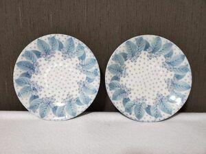 【美品】義峰 小皿 2枚セット 食器 お皿 プレート 醤油皿 刺身皿