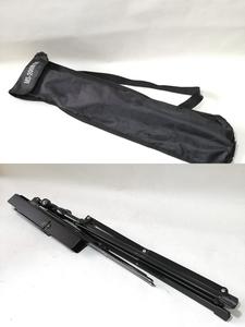 譜面台 収納袋付き 黒 美品