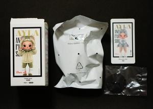 新品 AYLA Animal Fashion Show Blue gray deer POP MART POPMART ポップマート アイラ エルフ 検) Winter Elf LABUBU ラブブ