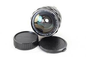 【ecoま】ミノルタ MINOLTA MC W.ROKKOR-SG 28mm F3.5 no.1550077 単焦点 マニュアルレンズ