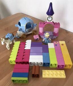 レア@レゴブロック シンデレラ馬車  まとめ売り/LEGO ディズニー プリンセス 廃盤 パステルカラー レゴデュプロ ミニフィグ